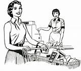 Supermarket Coloring Nostalgia Drawing Grocery Mom County Lorain Brady Pages Memories Getcolorings Printable Stores Retro Working Getdrawings sketch template