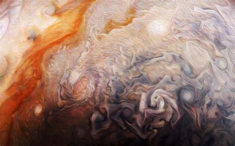 Abstract Jupiter Atmosphere | Solar System Exploration ...