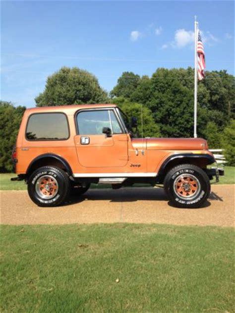 sell   jeep cj limited rare  reserve
