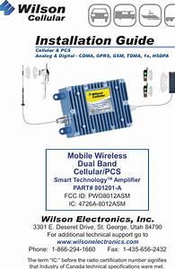 Wilson Electronics 8012asm Mobile Wireless Cellular  Pcs