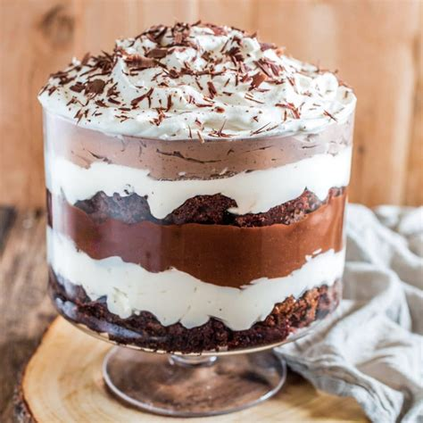 brownie trifle olivias cuisine