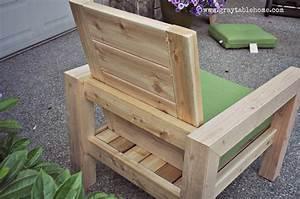 Diy, Modern, Rustic, Outdoor, Chair