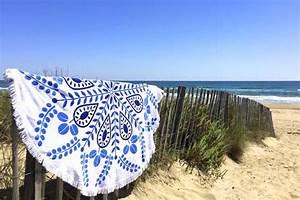 Serviette De Plage Ronde Eponge : serviette de plage ronde tendances du monde ~ Teatrodelosmanantiales.com Idées de Décoration