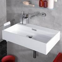 best modern bathroom sinks WS Bath Collections Modern Wall Mounted Vessel Bathroom Sink & Reviews | Wayfair
