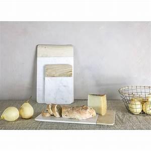 Planche À Découper Marbre : planche niju nkuku en marbre et bois de manguier fabriqu e ~ Melissatoandfro.com Idées de Décoration