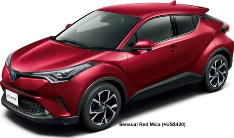 Toyota Colors by New Toyota C Hr Colors Photo Exterior Chr Colour