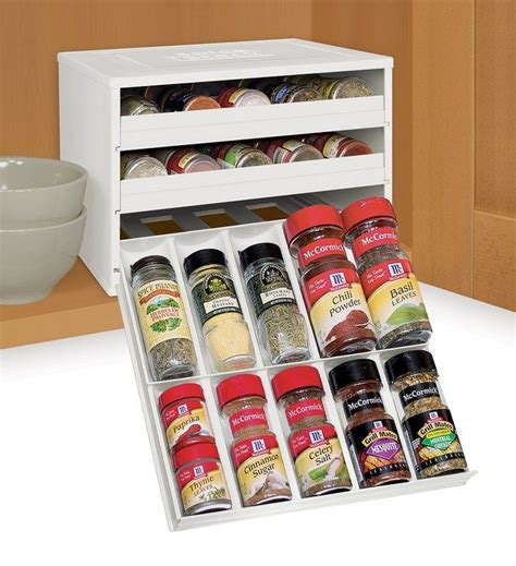 Spice Rack Storage System by Ikea Hack Built In Spice Rack Diy Projects For Everyone