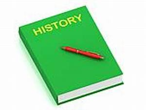 HISTORY name on cover book