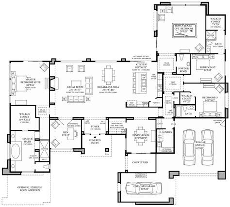modern floorplans contemporary floor plan