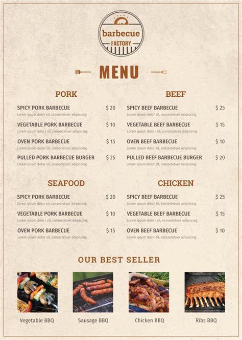 menu design templates  sample  format