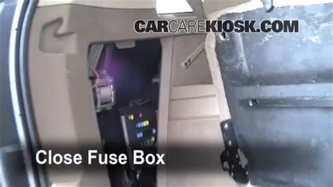 Interior Fuse Box Location Volvo