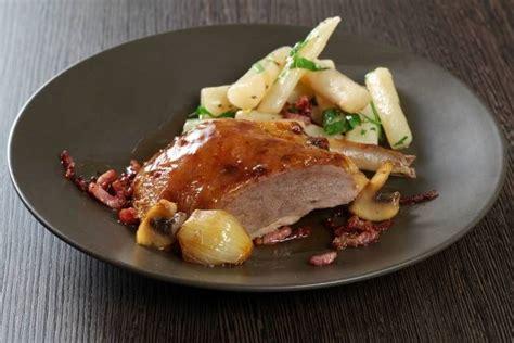 cuisiner le faisan facile recette de suprême de faisan grand mère salsifis