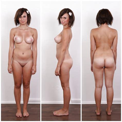 angezogen, ausgezogen reife nackt vor nach