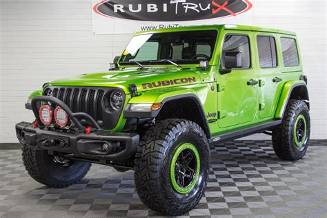 2019 Jeep Wrangler Rubicon Unlimited Jl Mojito! Green