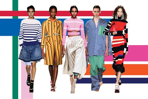spring 2017 trend report how to wear stripes fashion