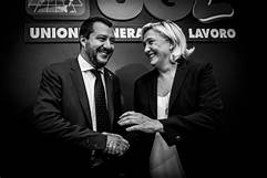 Marine Le Pen praises Matteo Salvini for 'controlling migration in Italy'…
