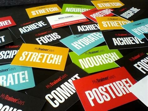 bossy biz card  images personal training business