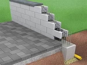 Steine Zum Mauern Preise : hohlblocksteine mauern anleitung betonsteine mauern anleitung in 4 schritten mauern tosa ~ Orissabook.com Haus und Dekorationen