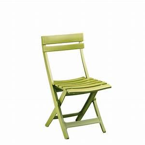 Chaise De Jardin Verte : lot 48 chaises pliantes en plastique vert anis miami ~ Teatrodelosmanantiales.com Idées de Décoration