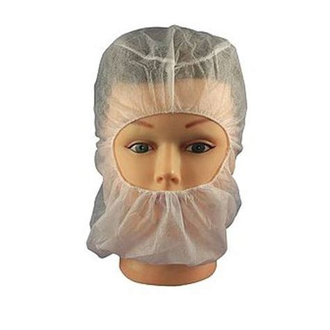 disposable white balaclava  size sold   case