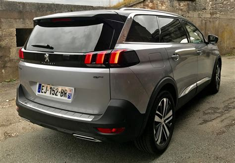2019 Peugeot 5008 Review And News Update  2018 2019