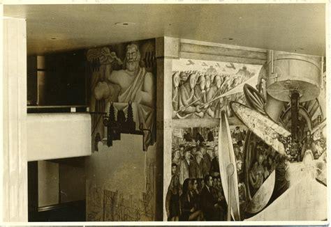 mural diego rivera edificio rockefeller sert el 250 nico pintor que se atrevi 243 a cubrir el mural de