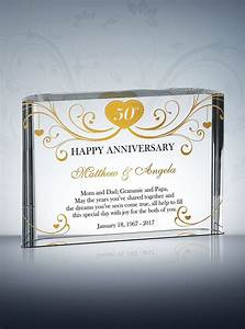 50th golden wedding anniversary gifts diy awards With 50 wedding anniversary gift