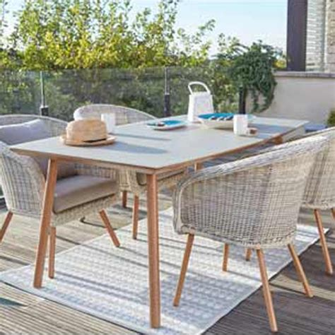 table et chaise salon terrasse et jardin leroy merlin