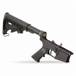 Apf Ar-15  M16 Lower Receiver With Parts Kit