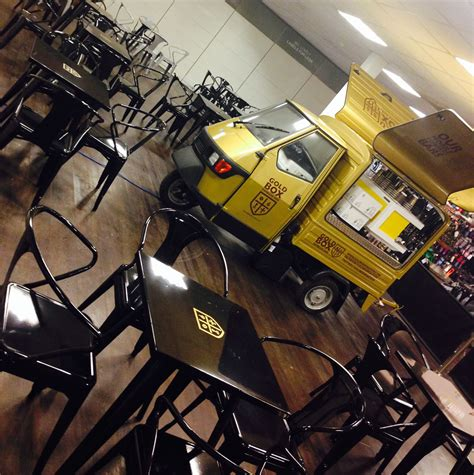 We have to take care of our best friends. Gold coffee van converted by www.coffeelatino.co.uk Coffee Latino conversion for www ...