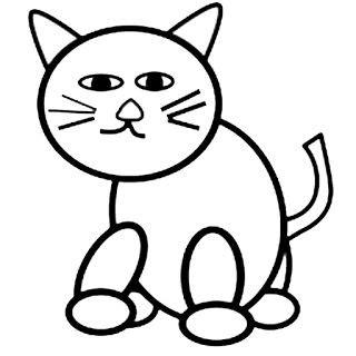 Draw cute cat scenery menggambar pemandangan kucing lucuподробнее. Gambar Mewarnai Gambar: Gambar mewarnai kucing untuk anak ...