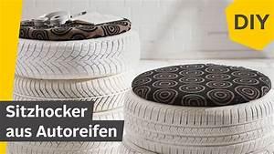 Hocker Aus Autoreifen : diy sitzhocker aus autoreifen bauen roombeez powered ~ A.2002-acura-tl-radio.info Haus und Dekorationen