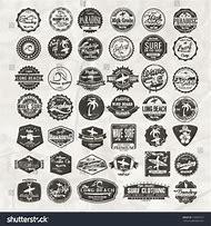 Retro Vintage Surf Logos