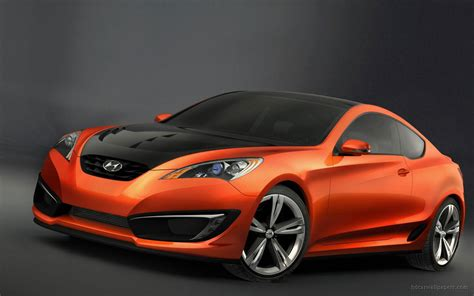 Hyundai Genesis Coupe Concept 3 Wallpaper Hd Car Wallpapers
