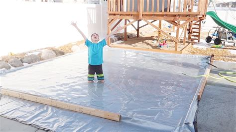 How To Make An Rink In Backyard by Backyard Skating Rink