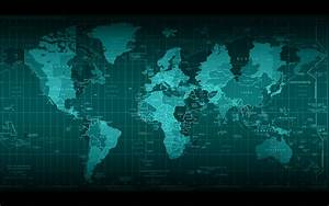 World Map Full HD Wallpaper and Background Image ...