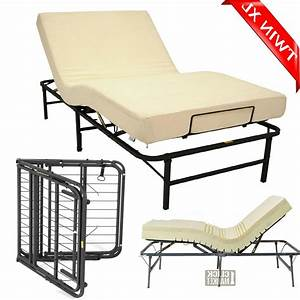 Adjustable Twin Xl Size Bed Frame Head Foot