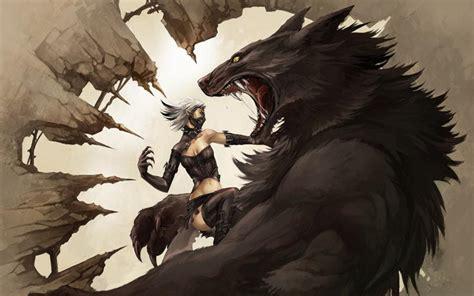 hd werewolf wallpaper