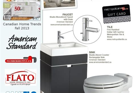 Win A Bathroom Makeover 2014 win a bathroom makeover home trends magazine