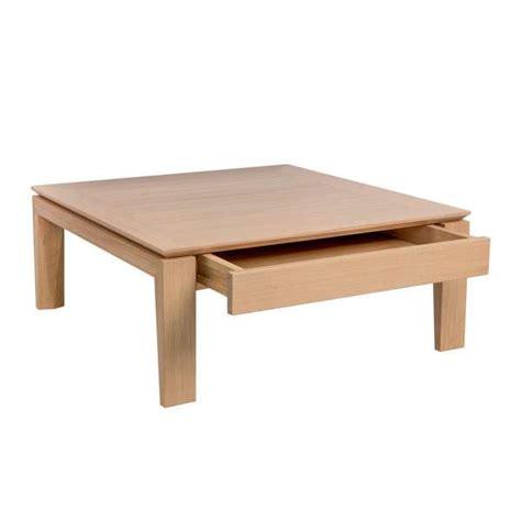 table basse avec tiroir table basse contemporaine carr 233 e en bois avec tiroir bakou 4 pieds