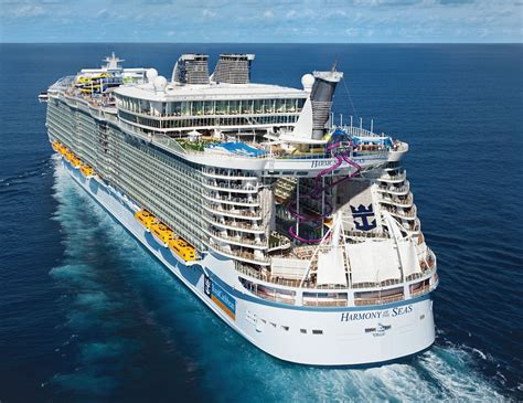 Harmony Of The Seas - Itinerary Schedule Current Position | CruiseMapper