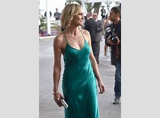 Robin Wright Cannes nipple flash as paperthin gown