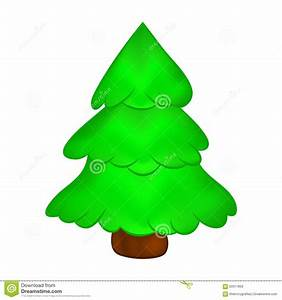 Christmas Trees Cartoon Christmas Lights Decoration
