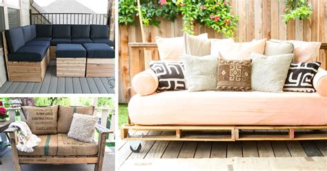 how to build a patio outdoor patio furniture covers 20 diy pallet patio furniture tutorials for a chic and