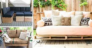 Diy outdoor furniture pallets how to make pallet patio for Homemade furniture tutorials