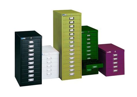 Multi Drawer Cabinet 15 Drawers Locking (Choice of Colours)