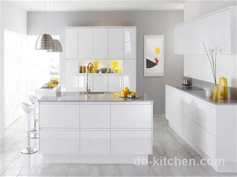 white gloss kitchen cabinets high quality high gloss mdf white acrylic kitchen cabinet