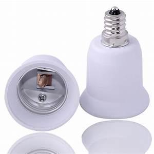 E to candelabra light lamp bulb socket base