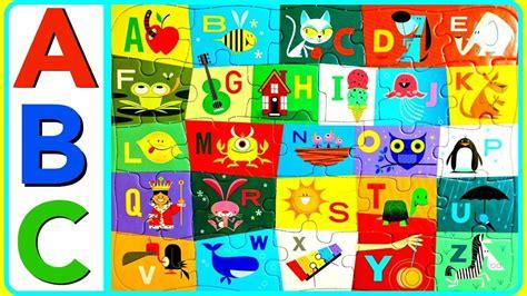 Learn Abc Alphabet With Fun Abc Puzzle! Abc Alphabet