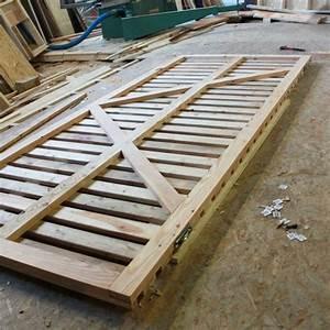 Portail Bois 4m : plan portail coulissant bois ~ Premium-room.com Idées de Décoration